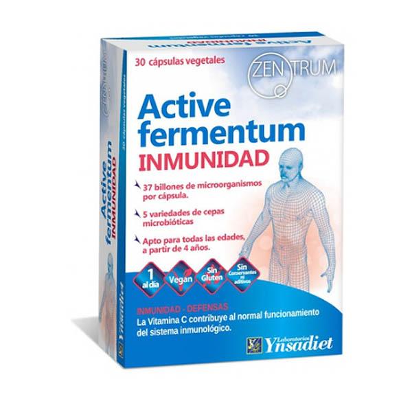 ZENTRUM Active fermentun INMUNIDAD (30 cápsulas)