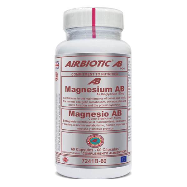 MAGNESIO AB (bisglicinato) (60 cápsulas)