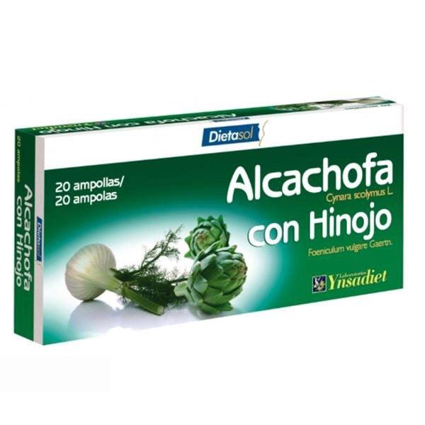 ALCACHOFA con HINOJO (20 ampollas)