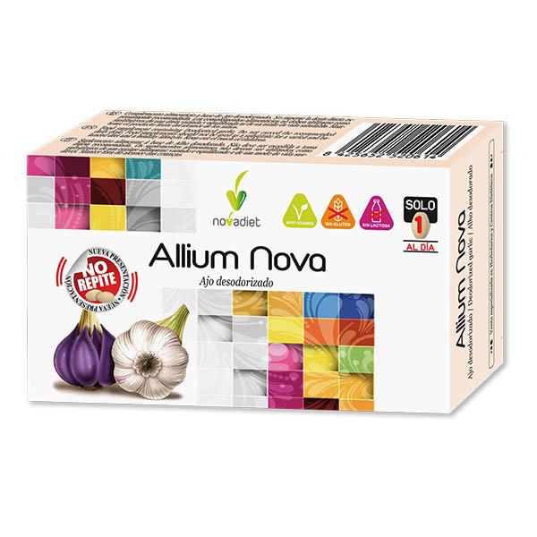ALLIUM NOVA ajo desodorizado (30 comprimidos)