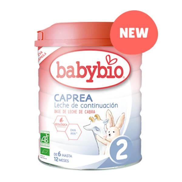 BABYBIO CAPREA LECHE 2 Continuación bio (800 gr)