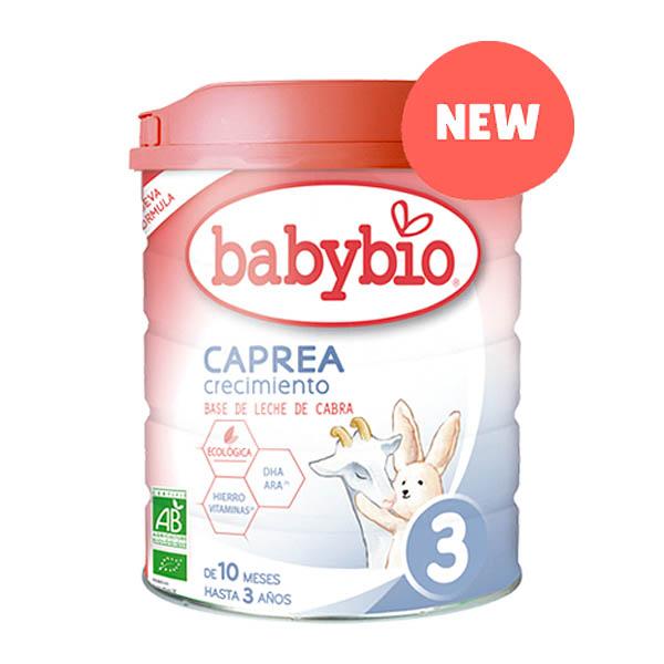 BABYBIO CAPREA LECHE 3 Crecimiento bio (800 gr.)