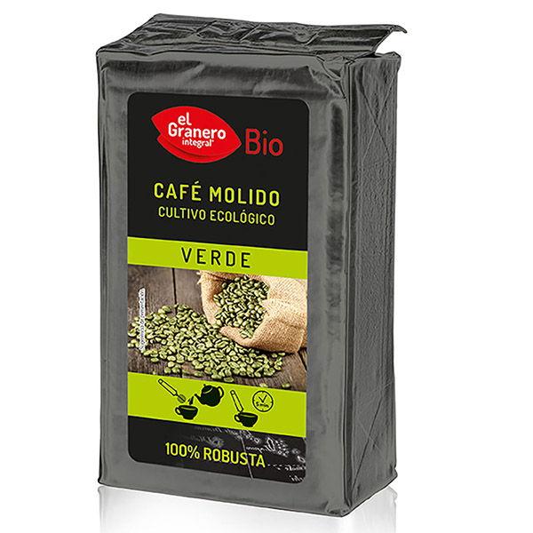 CAFÉ VERDE  molido 100% ROBUSTA bio (400 g)