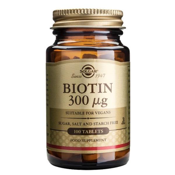 BIOTINA 300 mcg (100 comprimidos)