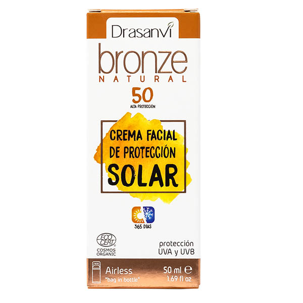CREMA FACIAL DE PROTECCIÓN SOLAR 50 (50 ml)