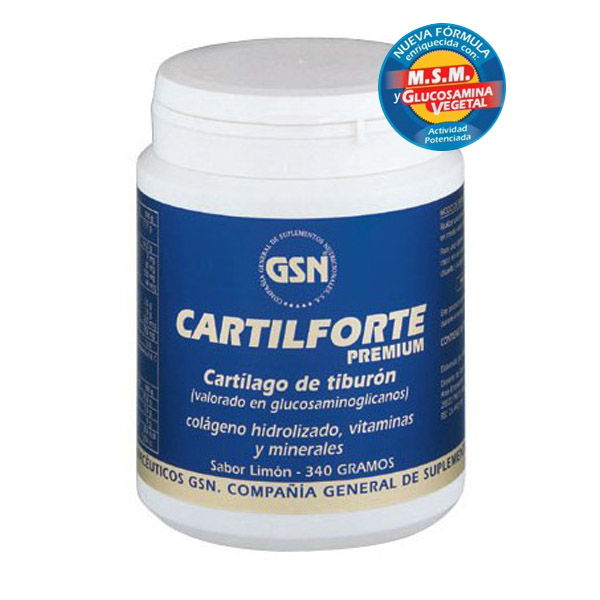 CARTILFORTE COMPLEX  Limón (370 gr.)