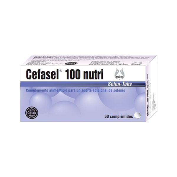 CEFASEL®  100 nutri (60 comprimidos)
