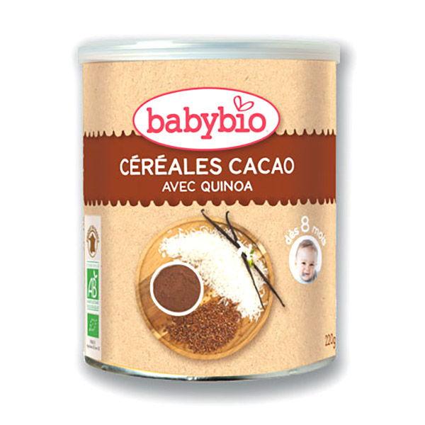 BABYBIO CEREALES CACAO bio (220 g)