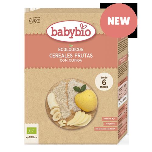 BABYBIO CEREALES  FRUTAS con Quinoa bio (200 gr.)