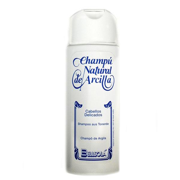 CHAMPÚ Natural de Arcilla (Cabellos delicados)(250 ml)