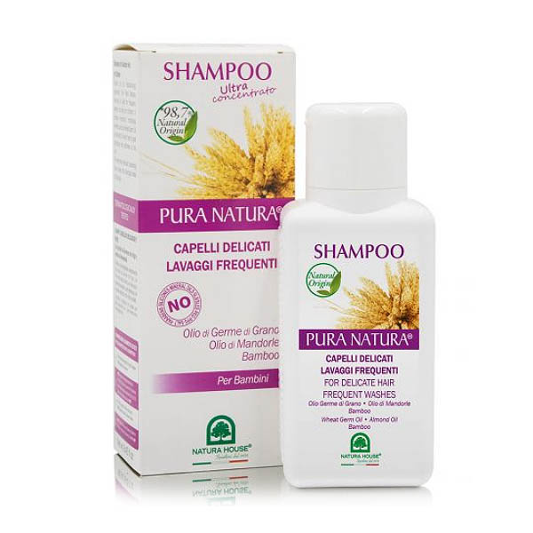 Champú CABELLOS DELICADOS germen de trigo (250 ml)