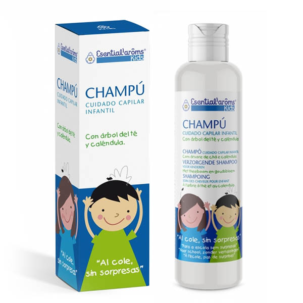 Kids esential CHAMPÚ ANTIPIOJOS (100 ml)