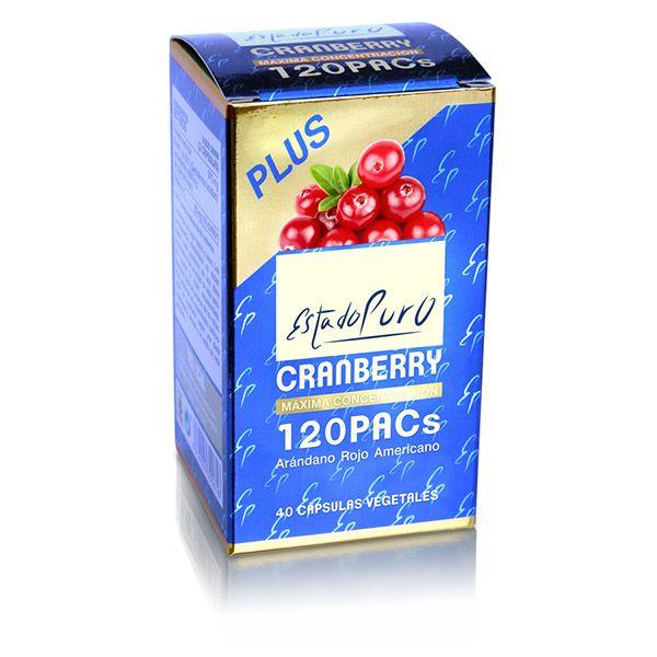 CRANBERRY 120 PACs-Arándano rojo (40 cápsulas)