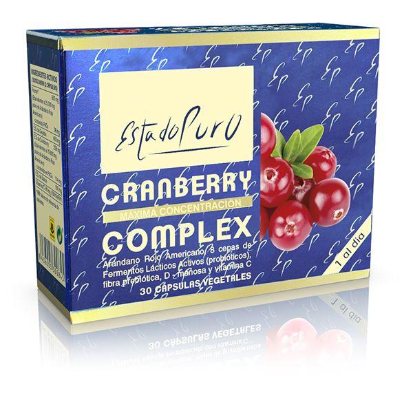 CRANBERRY COMPLEX-Arándano rojo americano (30 cápsulas)