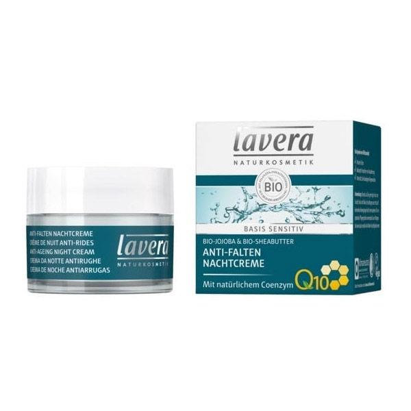 CREMA DE NOCHE ANTIARRUGAS Q10 bio (50 ml)