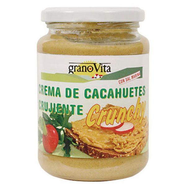 CREMA de CACAHUETE CRUJIENTE (350 g)