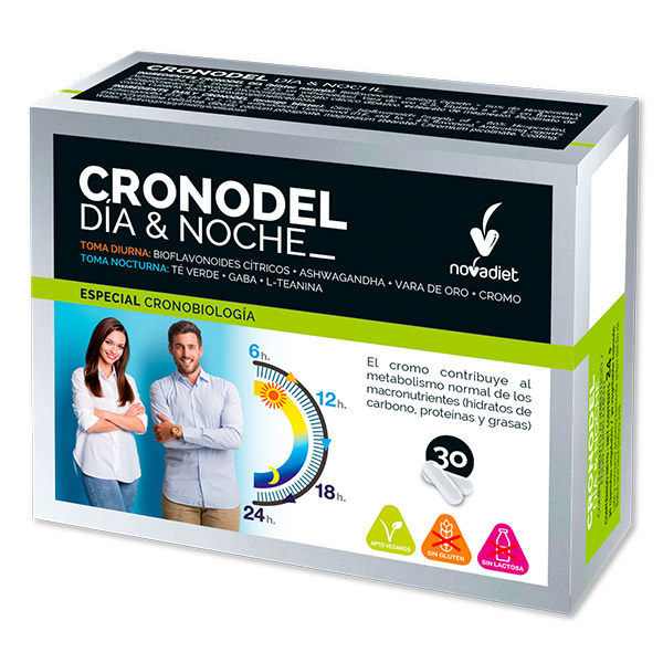 CRONODEL DIA & NOCHE (30 cápsulas)