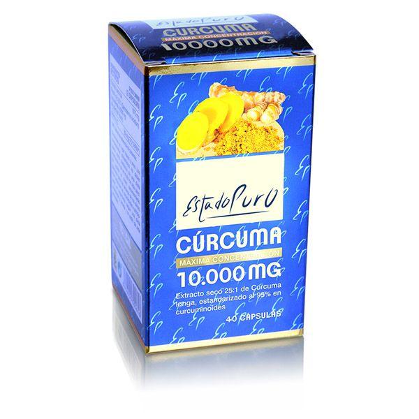 CÚRCUMA 10.000 mg. (40 cápsulas)