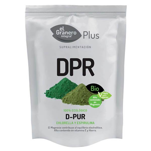 D-PUR antiguo DETOX (Chlorella y Spirulina) (200 gr.)