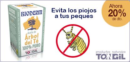 BIODERM-ACEITE DE ÁRBOL DEL TÉ-Tea tree 100% puro (15 ml.)