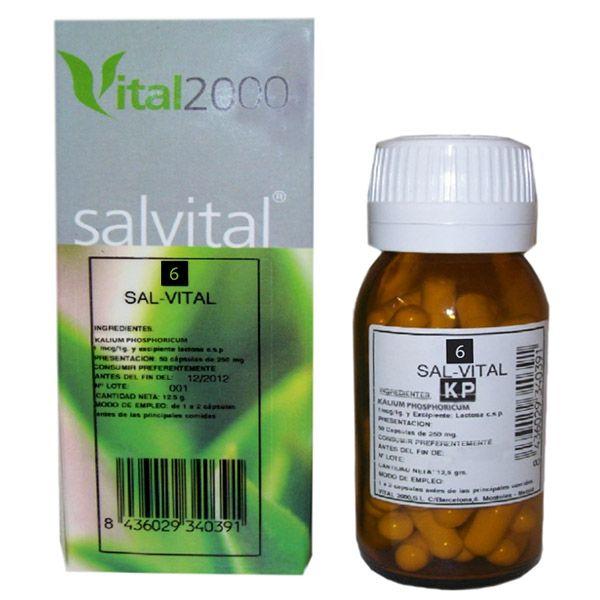 SALVITAL  Nº 6 (50 cápsulas)