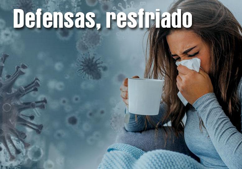 Combate el resfriado y refuerza tus defensas en época invernal