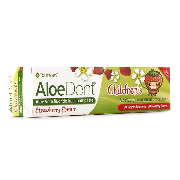 DENTÍFRICO Aloe vera niños (100 ml.)
