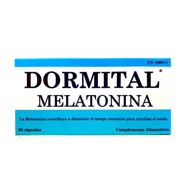 DORMITAL MELATONINA (30 cápsulas)