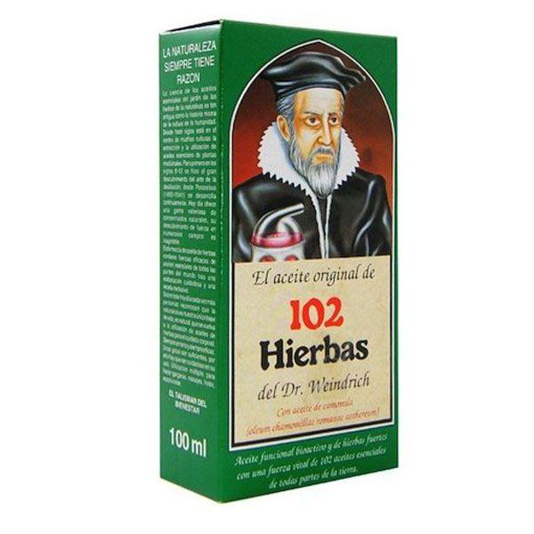 ACEITE de 102 HIERBAS (100 ml.)