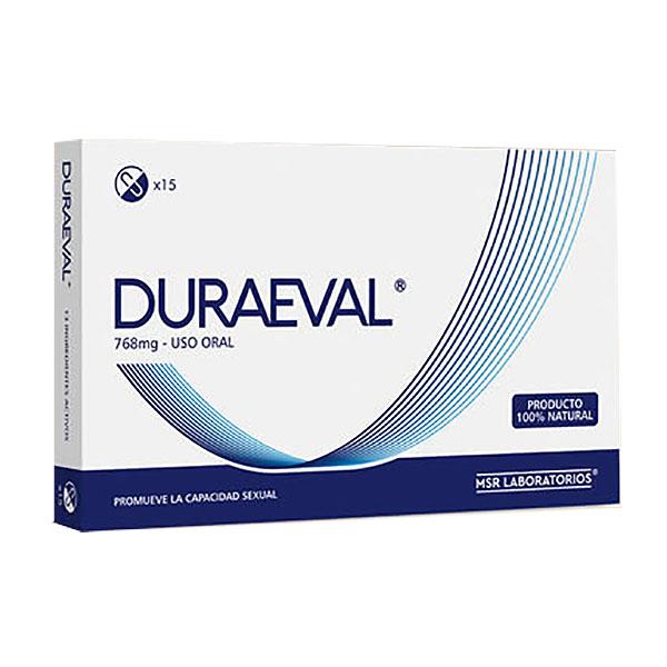 DURAEVAL (15 cápsulas)