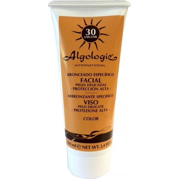 Crema solar FACIAL factor 30 (100 ml.)