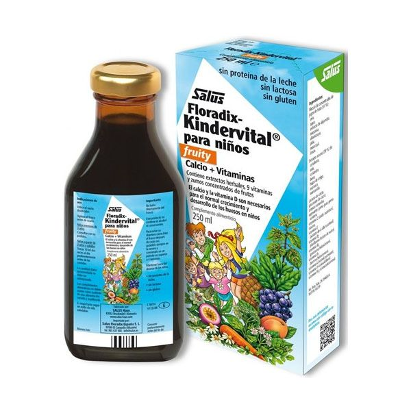 FLORADIX KINDERVITAL fruity (250 ml.)