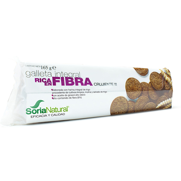 Galleta integral RICA EN FIBRA (165 g.)