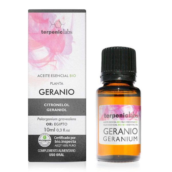 Aceite esencial GERANIO bio (10 ml)
