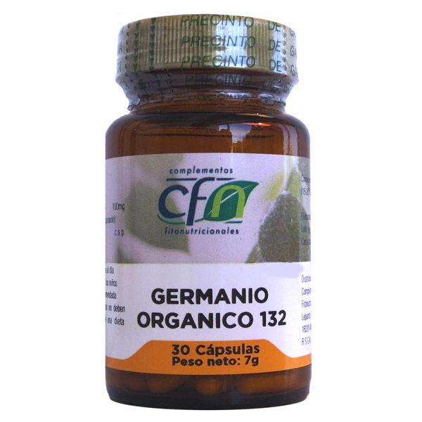 GERMANIO ORGÁNICO  100 mg. (30 cápsulas)