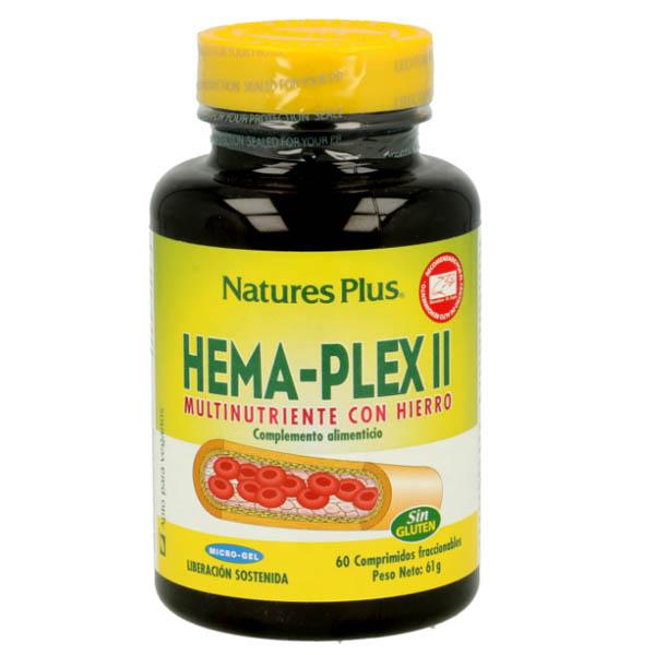 HEMA-PLEX II- hierro (60 comprimidos)