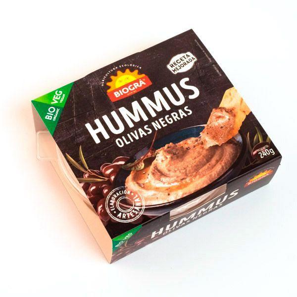 Hummus OLIVAS ARAGON bio (240 g)
