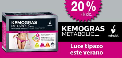 KEMOGRAS METABOLIC (30 cápsulas)