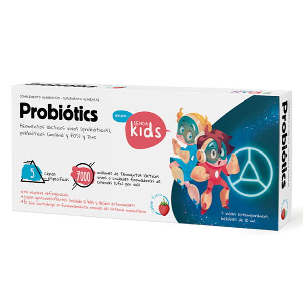 PROBIOTICS INFANTIL (7 viales)