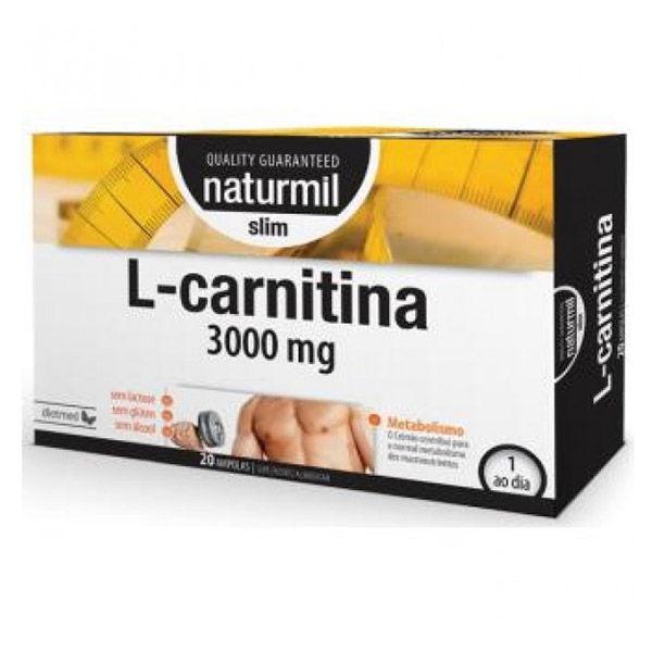L-CARNITINA SLIM (antigua STRONG) 3000 mg. (20 viales)