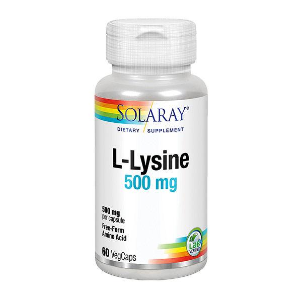 L-LYSINE 500 mg. (60 cápsulas)