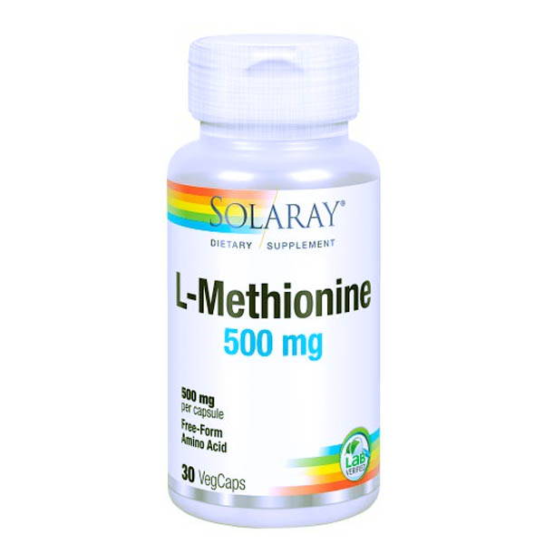 L-METIONINA 500 mg (30 cápsulas)