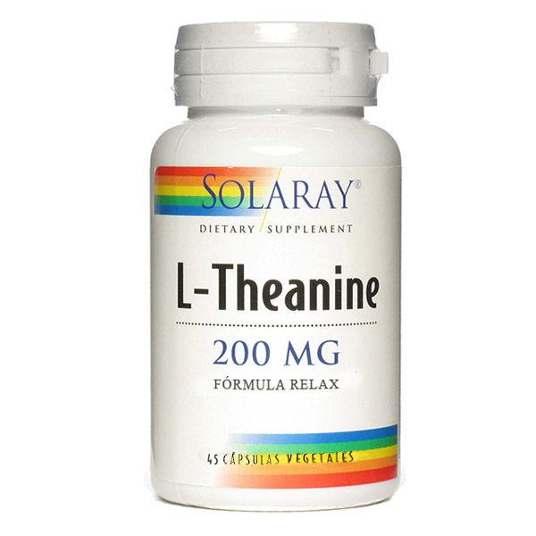 L-THEANINE 200 mg. (45 cápsulas)