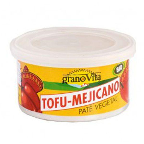 PATÉ VEGETAL BIO Tofu Mexicano (125 gr.)