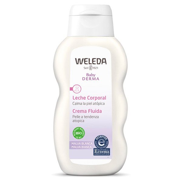 LECHE CORPORAL de Malva Blanca (200 ml.)