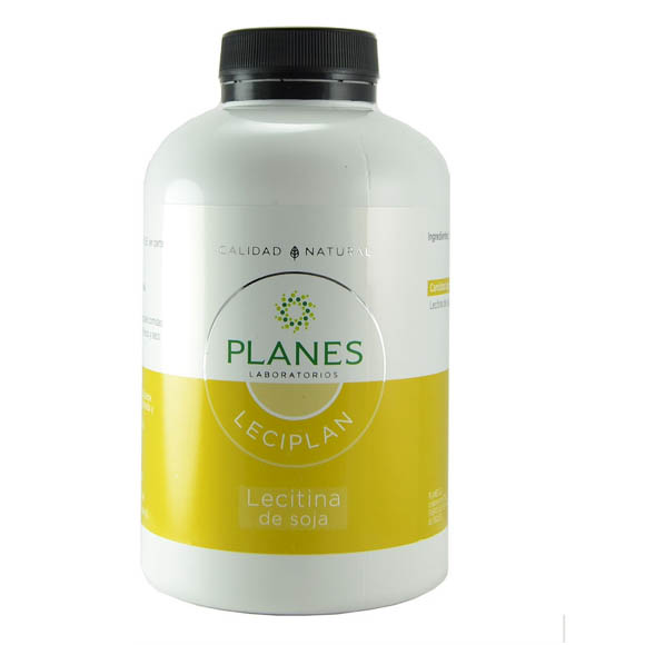 LECIPLAN Lecitina de soja 1200 mg. (200 perlas)