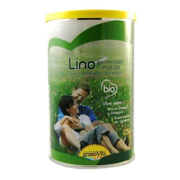 LINO GERMINADO Molido bio (500 gr)