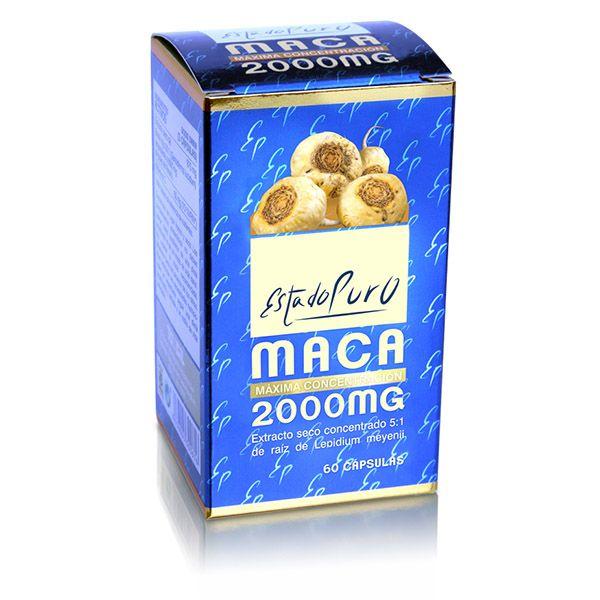 MACA 2000 mg. (60 cápsulas)