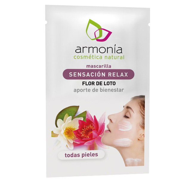 MASCARILLA Sensación relax - Flor de Loto (10 ml.)