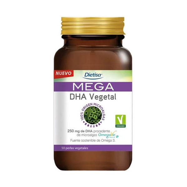 MEGA DHA VEGETAL (50 cápsulas)